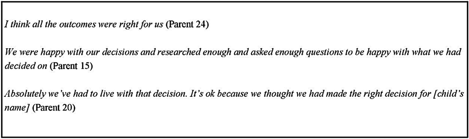 parents and end of life decision making for their child roles and figure