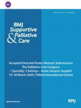 BMJ Supportive & Palliative Care: 10 (Suppl 1)