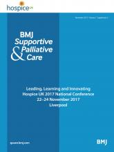 BMJ Supportive & Palliative Care: 7 (Suppl 2)