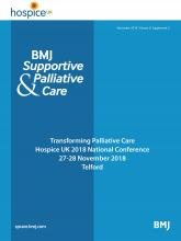 BMJ Supportive & Palliative Care: 8 (Suppl 2)