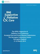 BMJ Supportive & Palliative Care: 9 (Suppl 1)