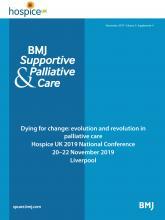 BMJ Supportive & Palliative Care: 9 (Suppl 4)